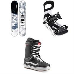 Lib Tech Cold Brew C2 Snowboard + Bent Metal Bolt Snowboard Bindings + Vans Hi Standard OG Snowboard Boots 2022