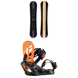 K2 Vandal Snowboard + Vandal Snowboard Bindings - Boys' 2022