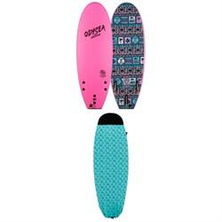 Catch Surf Odysea 5'0 Pro Stump Thruster - JOB Surfboard + Catch Surf 5ft Board Sock