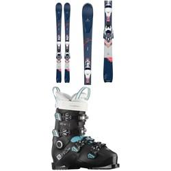 Dynastar Intense 4X4 82 Skis + Xpress 11 GW Bindings + Salomon S/Pro HV 80 W IC Ski Boots - Women's 2021