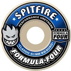 Spitfire Formula Four 99d Classic Shape Skateboard Wheels