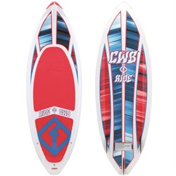 CWB Ride Wakesurf Board + Surf Rope