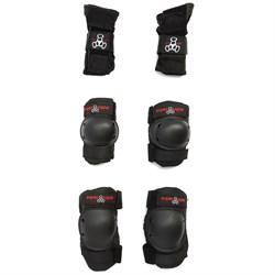 Triple 8 Saver Series High Impact 3 Pack JR. Skateboard Pad Set - Big Kids'