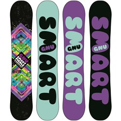 GNU Ladies Smart Pickle BTX Snowboard - Women's