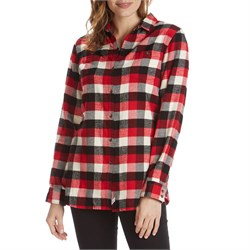 Woolrich outdoor lifestyle clothing for Buffalo check flannel shirt jacket