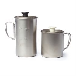 Snow Peak Titanium Cafe Latte Set