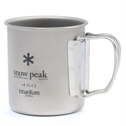 Snow Peak 450ml Titanium Single-Walled Cup