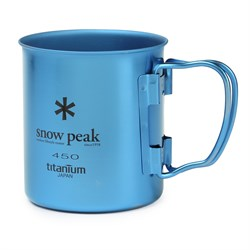 Snow Peak 450ml Titanium Single-Walled Cup