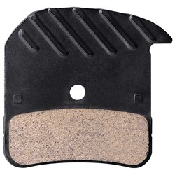 Shimano H01A Resin Disc Brake Pads with Fins