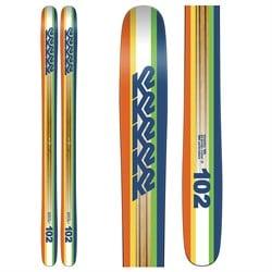 K2 Shreditor 102 Skis 2016