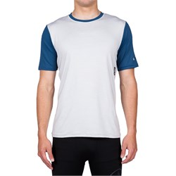 Volcom Stripe Heather Short Sleeve Rashguard