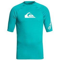 Quiksilver All Time Short-Sleeve Rashguard