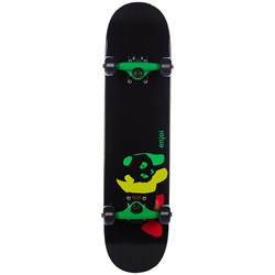 Enjoi Rasta Panda Youth FP 7.0 Skateboard Complete
