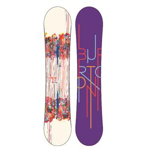 Burton Feelgood Flying V Snowboard - Women's 2013