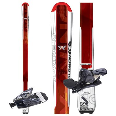Salomon X Wing 10 Skis + Bindings - Used 2007
