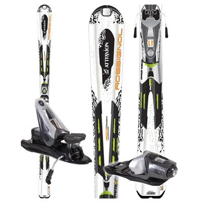 Rossignol Attraxion XI Mutix Skis + Bindings - Women's - Used 2008
