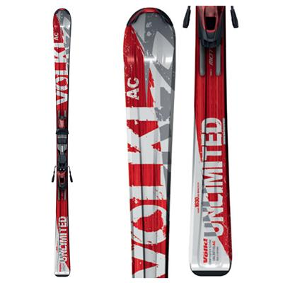 Volkl Unlimited AC Skis + Marker 3Motion 10.0 Bindings 2009