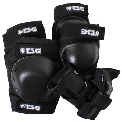TSG Knee/Elbow/Wrist Sakteboard Pad Set