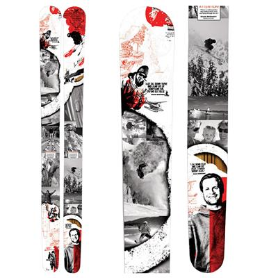 K2 Shane McConkey Tribute Pontoon Skis 2010