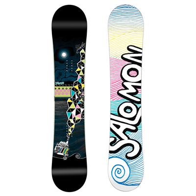 Salomon Lily Snowboard - Women's 2011