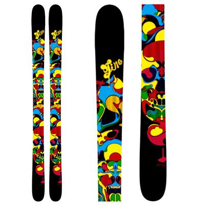 Line Skis Super Hero Skis - Youth 2011
