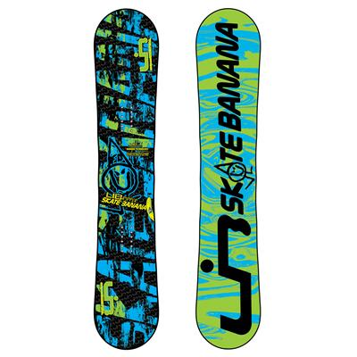 Lib Tech Lib Ripper Skate Banana BTX Banana Rocker (Blue/Green) Snowboard - Youth 2011