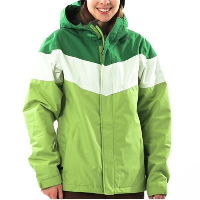Planet Earth Striped Jacket - Women's