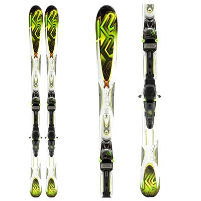 K2 A.M.P. Rictor Skis + MX 12.0 Bindings 2011