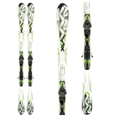 K2 A.M.P. Photon Skis + M2 10.0 Q Bindings 2011
