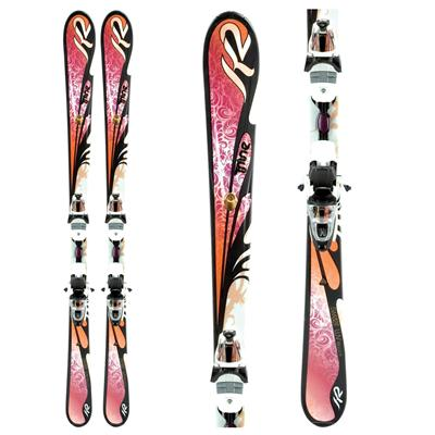 K2 Sweet Luv Skis + ERP 10.0 Bindings - Women's 2011
