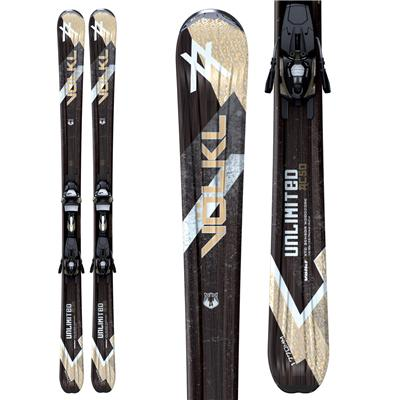 Volkl AC50 Skis + iPT Wide Ride 12.0 Bindings 2011