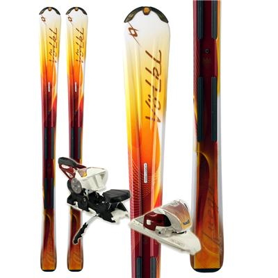 Volkl Attiva Fuego Skis + eMotion 11.0 TC Bindings - Women's 2011