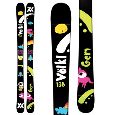 Volkl Gem Jr Skis - Youth 2011