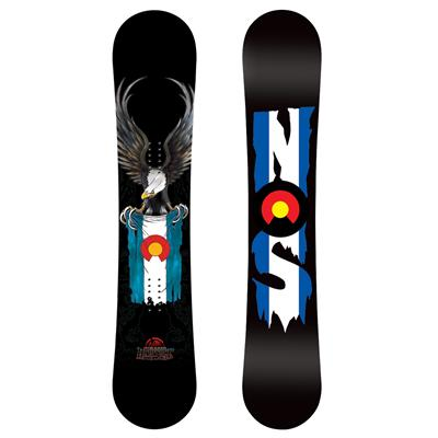 Never Summer Heritage Rocker Snowboard 2011