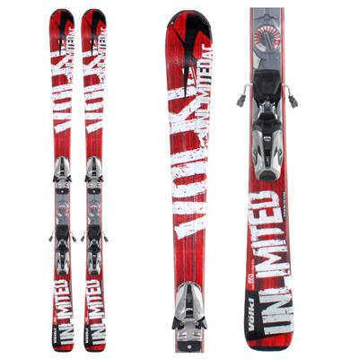 Volkl Unlimited AC Skis + Bindings - Used 2009