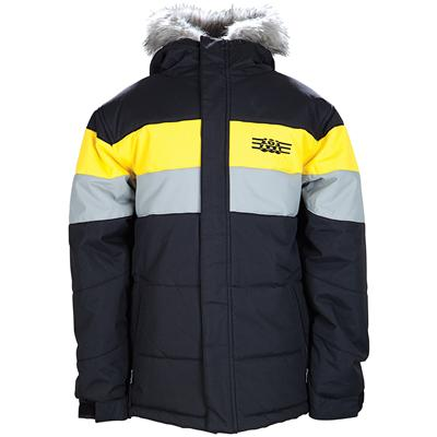 686 Mannual Puffy Stripe Insulated Jacket - Youth - Boy's