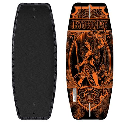 Byerly Wakeboards Revival Wakeskate 2011