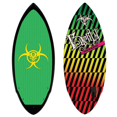 Byerly Wakeboards Hazard Wakesurf Board 2011