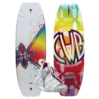 CWB Lotus Wakeboard + Bliss Boots - Women's 2011