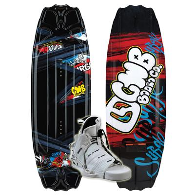 CWB Surge Wakeboard + Seven Boots - Youth 2011