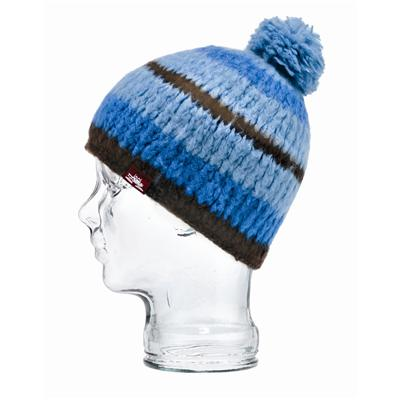Spacecraft Igloo Pom Striped Beanie - Women's