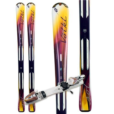 Volkl Attiva Sol Skis + Attiva 3Motion 10.0 TC Bindings - Women's 2011