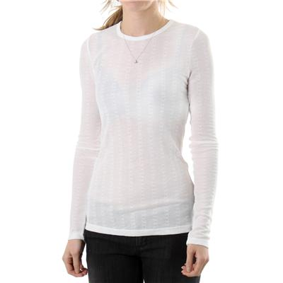 RVCA Quiet Eyes Crew Neck Top  - Women's