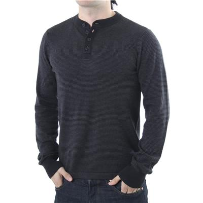 RVCA Me Long Sleeve Henley Shirt