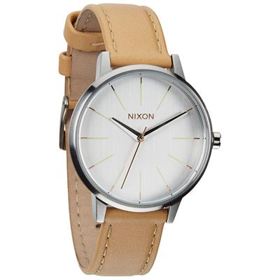 Nixon The Kensington Leather Watch - Women's