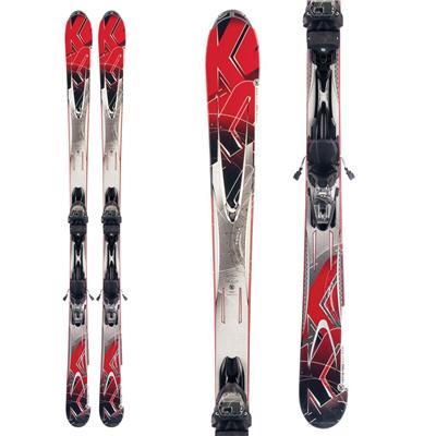 K2 A.M.P. Force Skis + Marker M3 10.0 Bindings 2012