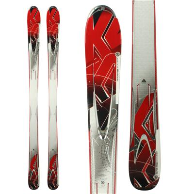 K2 A.M.P. Force Skis 2012