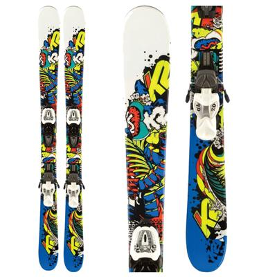 K2 Juvy Skis + FasTrak2 7.0  Bindings - Youth  2012