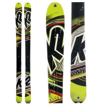 K2 WayBack Skis 2012