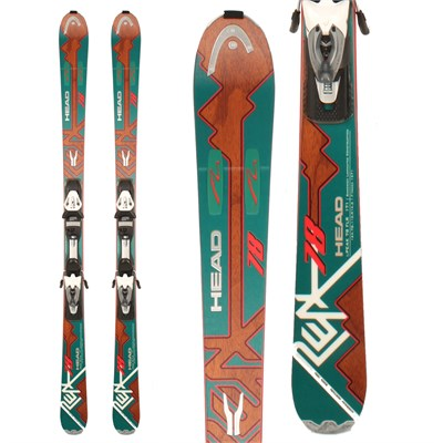 Head i.Peak 78 Skis + PR 11 Bindings 2012
